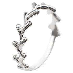 Nhẫn Rêu Gix Jewelry GR021 - Trắng
