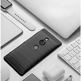 Ốp lưng chống sốc Vân Sợi Carbon cho Sony Xperia XZ2