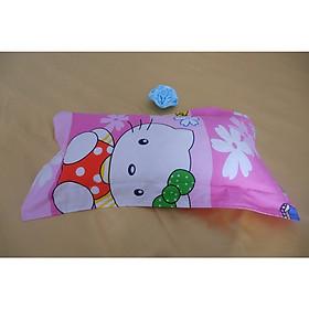 Gối trẻ em cao su nhuyễn thiên nhiên 100% , kích thước 20*40cm (tặng áo gối vải cotton)
