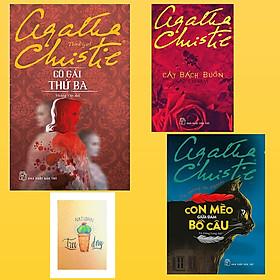 Combo Agatha Christie : Cây Bách Buồn, Cô Gái Thứ Ba và Con Mèo Giữa Đám Bồ Câu ( Tặng Kèm Sổ Tay Xương Rồng )