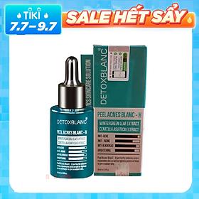Serum hỗ trợ trị mụn Detox Blanc Peel Acnes Blanc 40ml (Serum H cho da nhiều mụn)