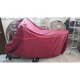 Bạt phủ xe máy vải dù dày loại lớn dành cho các loại xe máy tay ga ( màu ngẫu nhiên)