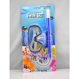 Kính Bơi Kèm Ống Thở Hai Khoang Nhìn Tiện Lợi (giao màu ngẫu nhiên)