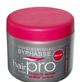 Kem ủ tóc hair pro Byphasse 500ml dành cho tóc nhuộm