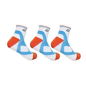 Combo 3 đôi tất (vớ) thể thao cầu lông Sunbatta SM-1230