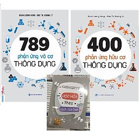 Combo 400 Phản Ứng Hữu Cơ Thông Dụng Và 789 Phản Ứng Vô Cơ Thông Dụng Tặng Kèm Sổ Tay Phản Ứng