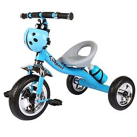 Xe đạp 3 bánh bình nước có giỏ để đồ hình con bọ (giao màu bé trai)