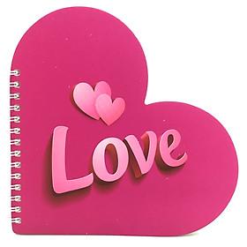 Bộ 2 Sổ Lò Xo Love Gift (17x17cm) - Mẫu 4