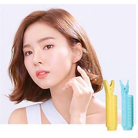 Kẹp uốn phồng chân tóc Hàn Quốc, lô cuốn phồng tóc mái tự nhiên tại nhà KT29