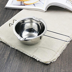 400mL Chocolate Melting Bowl Butter Milk Tool Baking Stainless Steel Chocolate Pot Milk Chocolate Cheese Sugar Saucepan