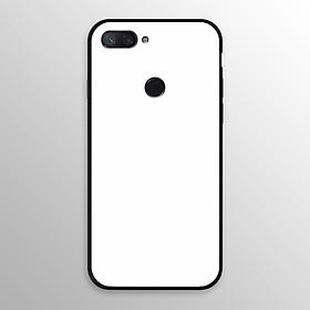 Ốp lưng kính cường lực cho Xiaomi Mi 8 Lite in hình màu sắc