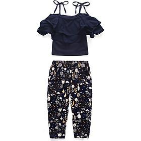 Fashion Girls Clothes Set Summer