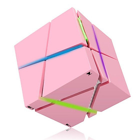 Bluetooth Speaker, Portable LED Lighting Speaker Stereo Magic Cube Mini Wireless Bluetooth 4.0 Speaker with Microphone for Smartphones iPhone iPad Samsung Tablet Laptop MP3 CD Player