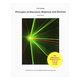 "Principles Of Electronic Materials And Devices giá chỉ còn <strong class=""price"">741.000đ</strong>"