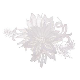 3D Hoa Huy Hiệu May Trên Miếng Dán Trang Trí Túi Nón Táo Quần Áo Phụ Kiện