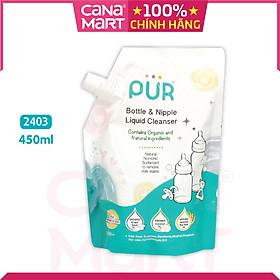 Túi nước rửa bình sữa Pur 450ml (2403)
