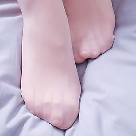 French Pierre Cardin stockings female ultra-thin 10D seamless apple hip wear 3 strips light coffee code