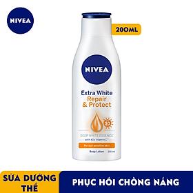 Sữa Dưỡng Thể Dưỡng Trắng Nivea Giúp Phục Hồi & Chống Nắng SPF 30 (200ml) - 88310