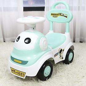 Xe chòi chân kiêm bám tập đi cho bé có đèn nhạc và khoang đựng đồ HT-5526 Toys House, nhựa ABS an toàn