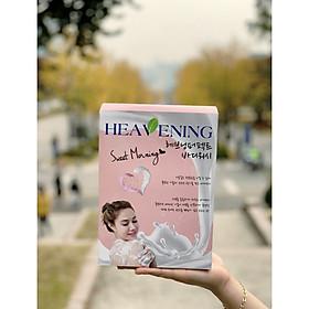 Bộ chăm sóc cơ thể Set 02 chai Sữa tắm dưỡng ẩm, làm trắng da Heavening