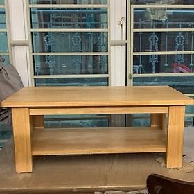 bàn osin gỗ cao su 2 tầng