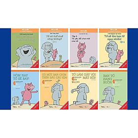Sách Song ngữ Combo Voi & Lợn phần 1 (tập 2-8) tặng bộ lì xì dễ thương