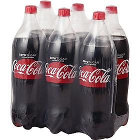 Lốc 6 Chai Nước Giải Khát Không Đường Coca-Cola Zero (1.5Lx6)