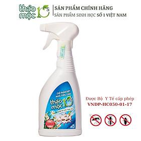 Chai Xịt Diệt Muỗi , Kiến , Gián Thảo Mộc 10s Hương Sả Chanh - An toàn hiệu quả