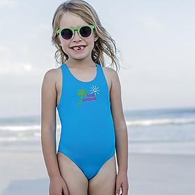 Áo tắm trẻ em Fashy cao cấp 100% nhập khẩu từ Đức, tiêu chuẩn châu Âu - Size cho bé gái từ 1-7 tuổi - Màu xanh dương