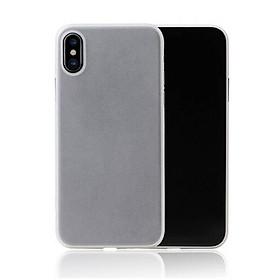 Ốp lưng nhám siêu mỏng 0.3mm cho iPhone XS Max hiệu Memumi có gờ bảo vệ camera - Hàng chính hãng