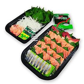 [Chỉ giao HN] - Set sashimi 299 - Xanh ( 1 hộp)