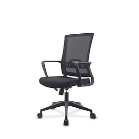 Ghế lưới văn phòng cao cấp, xoay và điều chỉnh độ cao, tay vịn cố định - mã sản phẩm MWA0-023