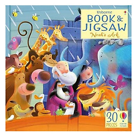 Usborne Book and Jigsaw Noah Ark