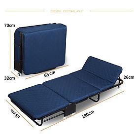Giường ngủ gấp gọn thông minh NIKITA, Xếp thành ghế SOFA dễ di chuyển
