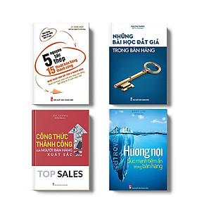 Combo Sách: 5 Nguyên Tắc Thép 15 Thuật Bán Hàng Thành Công - Những Bài Học Đắt Giá Trong Bán Hàng - Công Thức Thành Công Của Người Bán Hàng Xuất Sắc - Hướng Nội Sức Mạnh Tiềm Ẩn Trong Bán Hàng