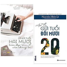 Combo Sách Kỹ Năng Sống Dành Cho Tuổi Trẻ: Gửi Tuổi Hai Mươi Tươi Đẹp Của Chúng Ta +  Thư Ngỏ Gửi Tuổi Đôi Mươi (Top Sách Bán Chạy Nhất / Tặng Kèm Postcard Greenlife)