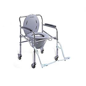 Ghế bô vệ sinh có bánh xe, để chân Lucass GX300