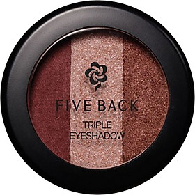 Phấn Mắt Phối 3 Màu Five Back Triple Eyeshadow (3g)