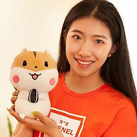 Gấu Bông Chuột Hamster 20cm TNB01 Siêu Đáng Yêu Màu Nâu