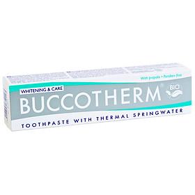 Kem đánh răng hữu cơ làm trắng răng vị bạc hà Buccotherm (75ml)