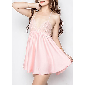 Set Đầm Ngủ Dusty Rose Sexy Forever - Hồng (Free Size)