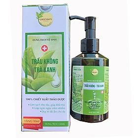 Dung dịch vệ sinh phụ nữ trầu không trà xanh GREENBON 150ml