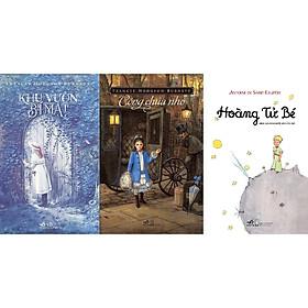 Combo Sách - 3 Tác Phẩm Kinh Điển Dành Cho Thiếu Nhi: Khu Vườn Bí Mật + Hoàng Tử Bé + Công Chúa Nhỏ