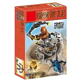 Mô hình Lego Bionicle 707-2 Pohatu Stone - Đại diện sức mạnh từ Đá