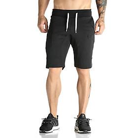 Quần thể thao tập gym nam cao cấp, chất thun co giãn thoải mái, quần short có thể mặc tập thể thao hoặc đi chơi