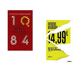 Combo 2 cuốn sách: 14,99 Hay lời tự thú của một Copywriter + 1Q84 tập 1