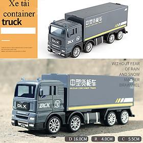 Đồ chơi mô hình xe tải container KAVY No.8807 chất liệu nhựa an toàn, chi tiết sắc sảo bền và đẹp