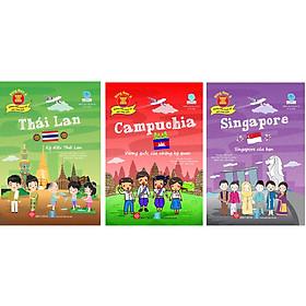 Combo 3 Cuốn: Singapore - Singapore Của Bạn + Thái Lan - Kỳ Diệu Thái Lan + Campuchia - Vương Quốc Của Những Kỳ Quan