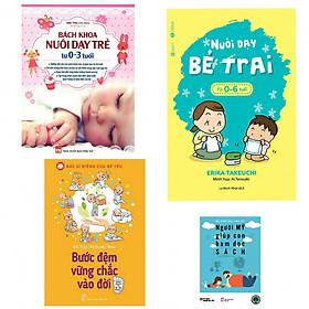 [Download sách] Combo bách khoa nuôi dạy trẻ từ 0-3 tuổi+nuôi dạy bé trai từ 0-6 tuổi+bước đệm vững chắc vào đời(bản đặc biệt tăng kèm sách người Mỹ giúp con ham đọc sách)