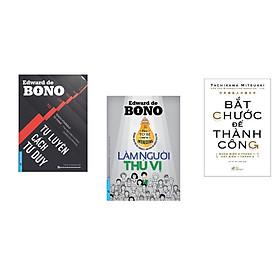 Combo 3 cuốn sách: Tự Luyện Cách Tư Duy + Làm Người Thú Vị + Bắt chước để thành công